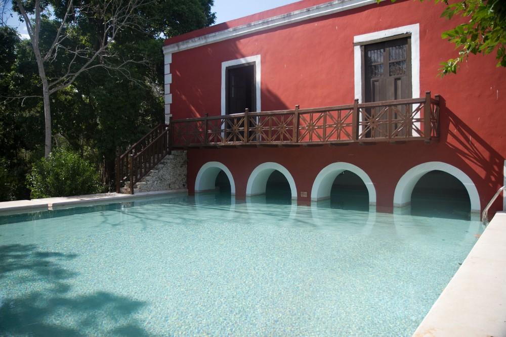Hacienda Santa Rosa, Yucatan, the pool