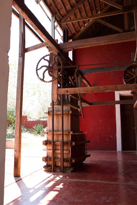 Hacienda Temozon, Yucatan, the old machine room