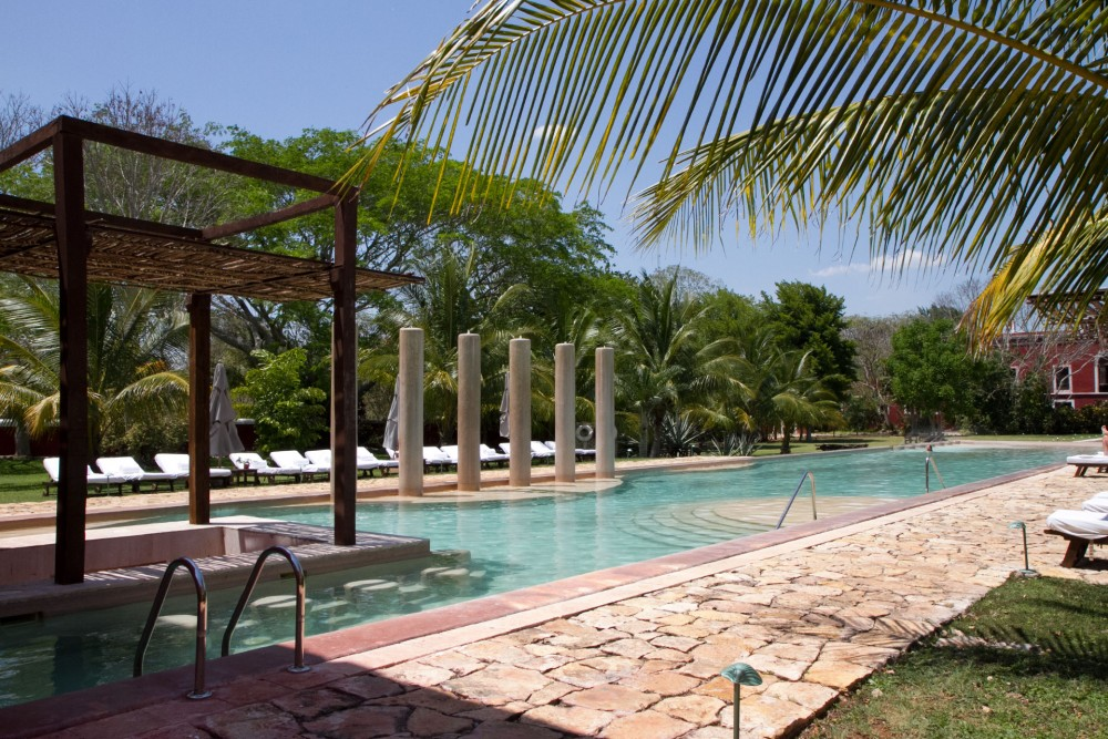 Hacienda Temozon, Yucatan, the pool