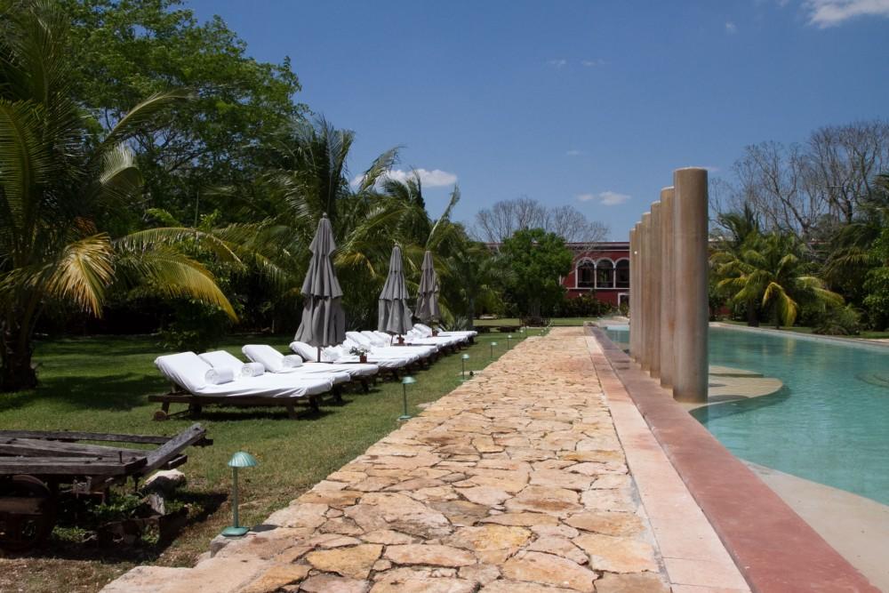 Hacienda Temozon, Yucatan, the pool