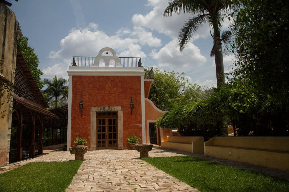 Hacienda Xcanatun, Merida, the chapel