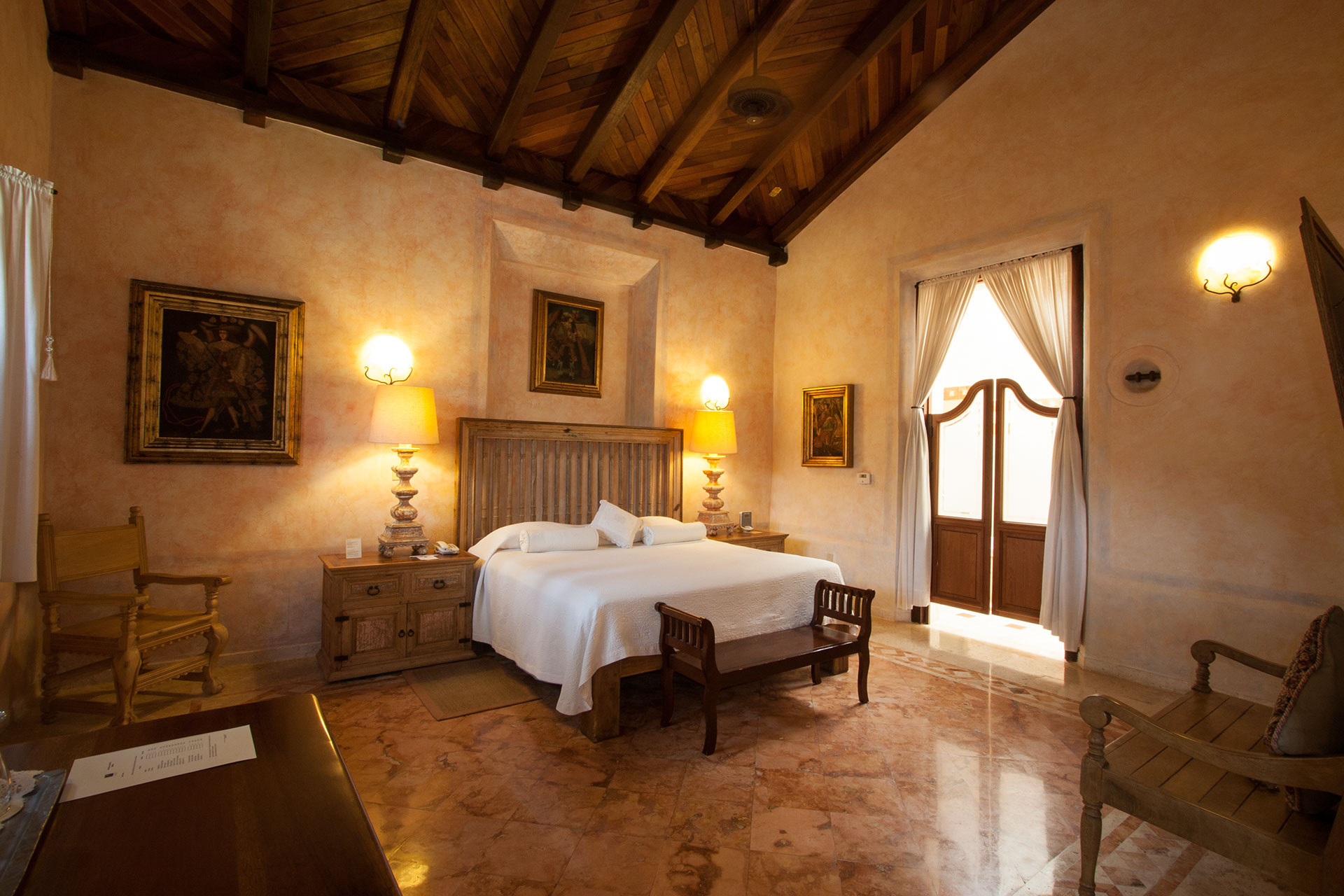 ... Hacienda Xcanatun, Merida, Master Suite ...