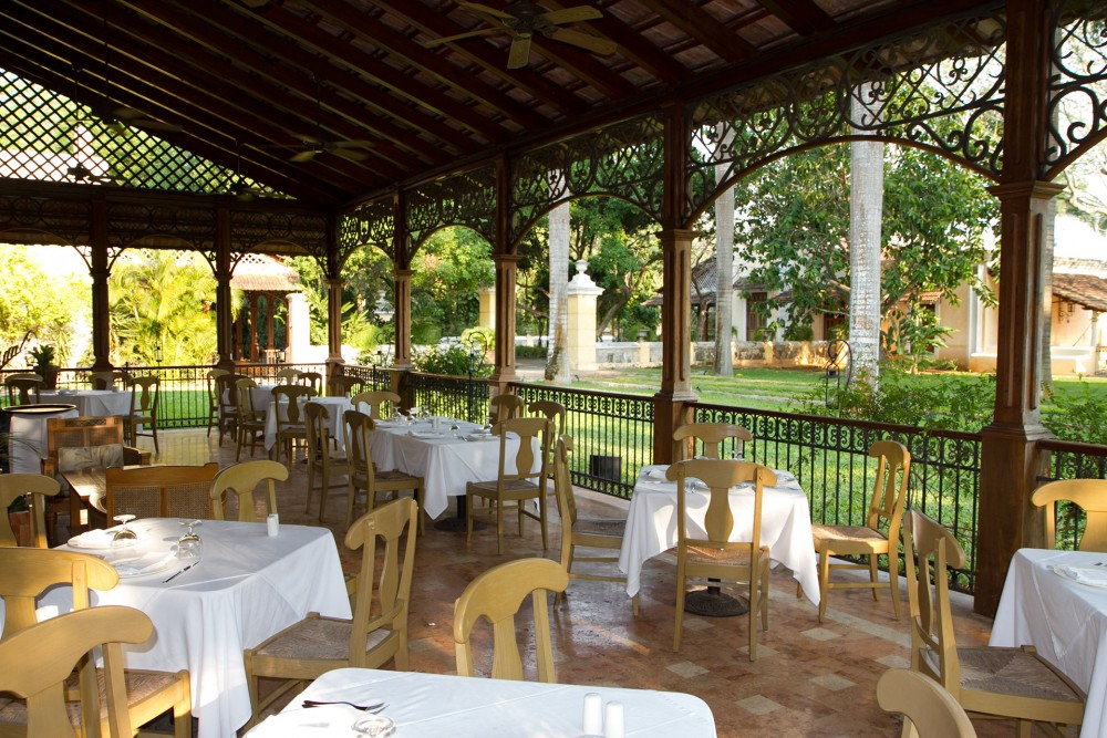 Hacienda Xcanatun, Merida, the restaurant