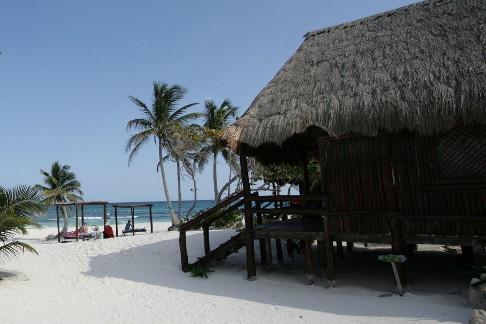 Hemingway Tulum, Ocean front cabana