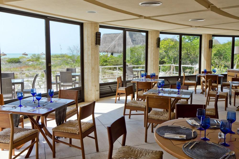 Hotel Xixim, Celestun, restaurant