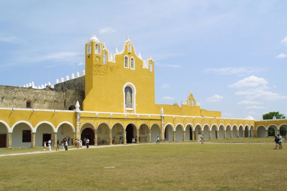 Izamal, the monastery