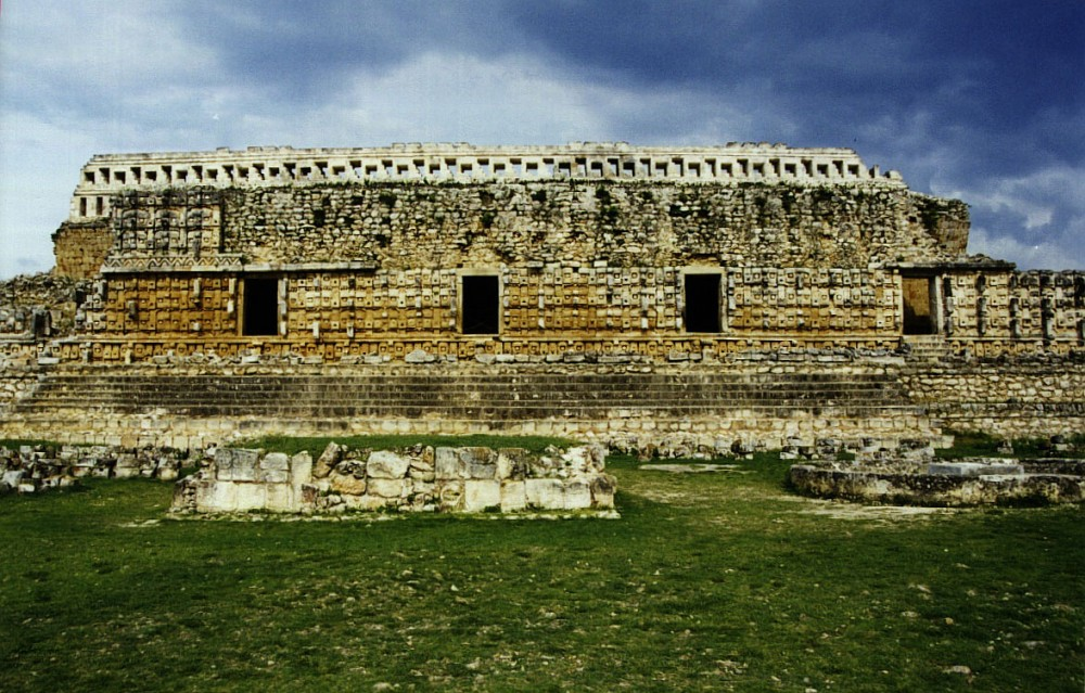 Kabah, one of the Puuc sites in the Yucatan