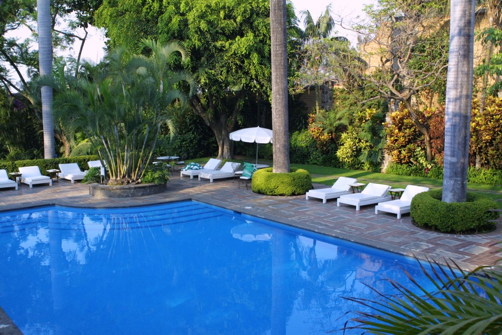 Las Mananitas, Cuernavaca, the pool