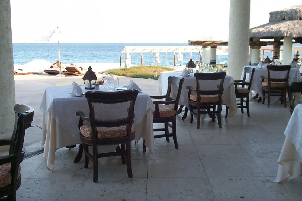 Las Ventanas al Paraiso, Los Cabos, the restaurant