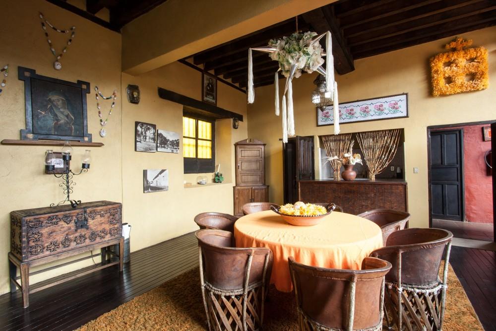 Mansion Iturbe, Patzcuaro, the meeting room