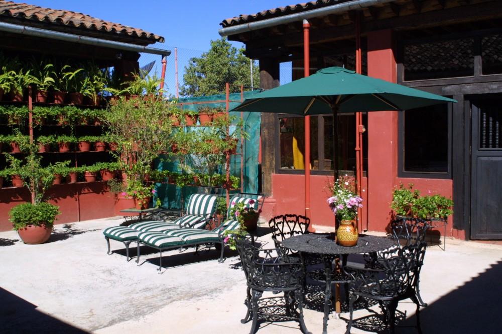 Mansion Iturbe, Patzcuaro, the solarium