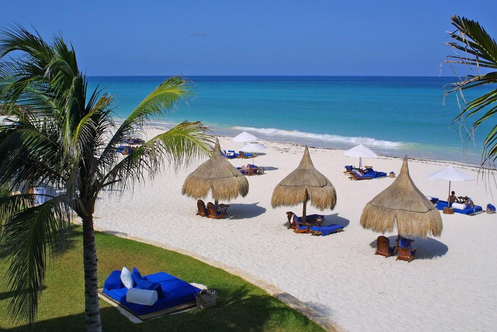 Belmond Maroma Resort and Spa, the beach
