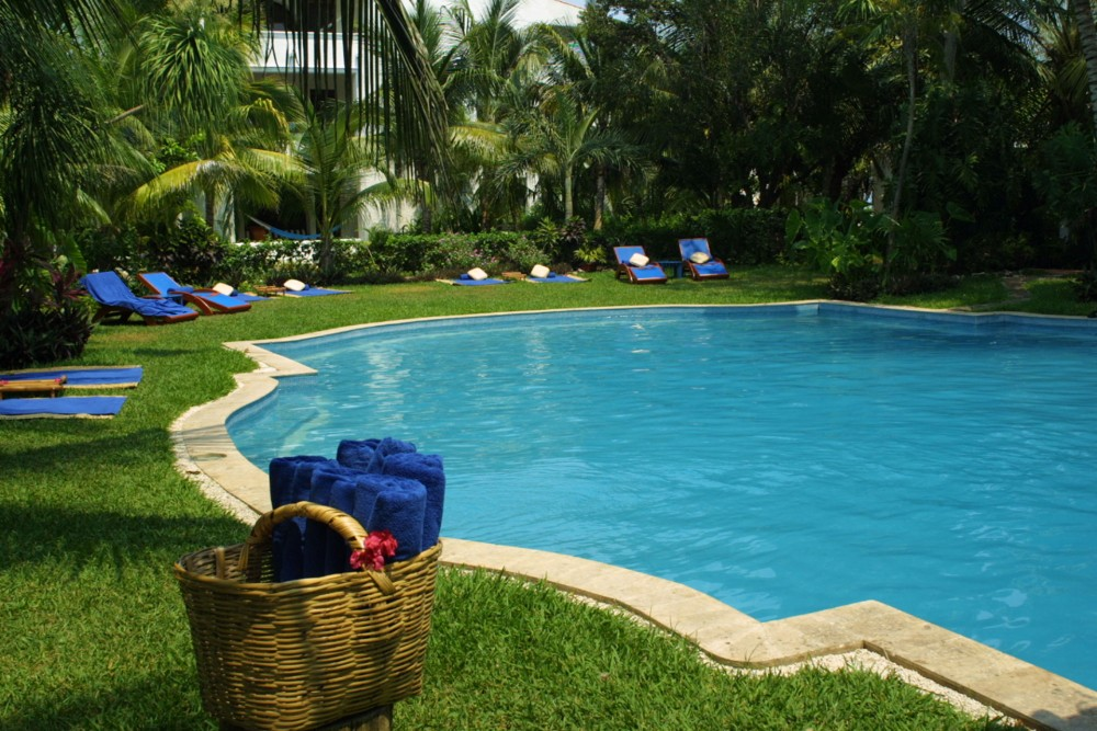 Belmond Maroma Resort and Spa, the pools