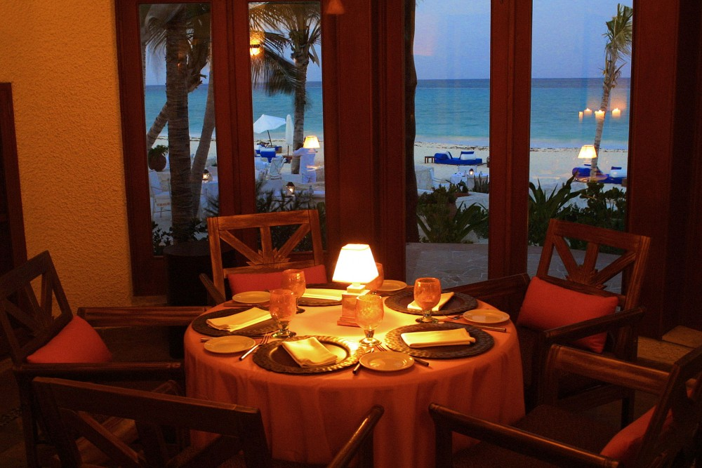Belmond Maroma Resort and Spa, the restaurants