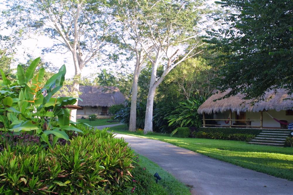 Mayaland Chichen Itza, a Mayan bungalow