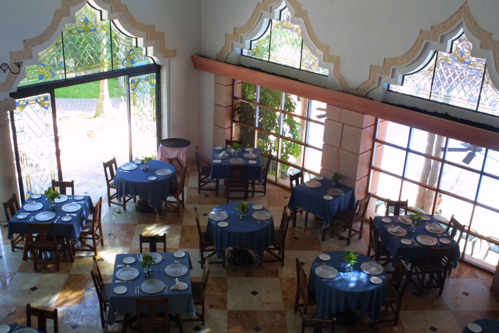 Mayaland Chichen Itza, the restaurant
