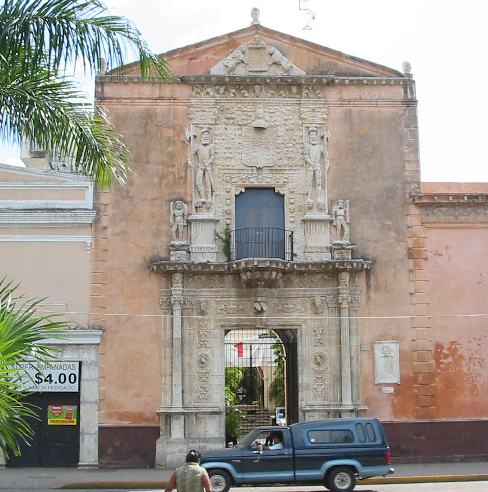 The Palacio Montejo in Merida