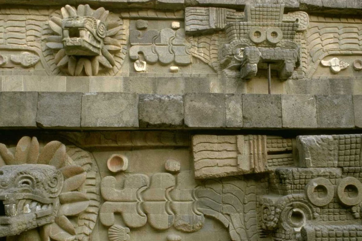 Mexico City, Temple of Quetzacoatl