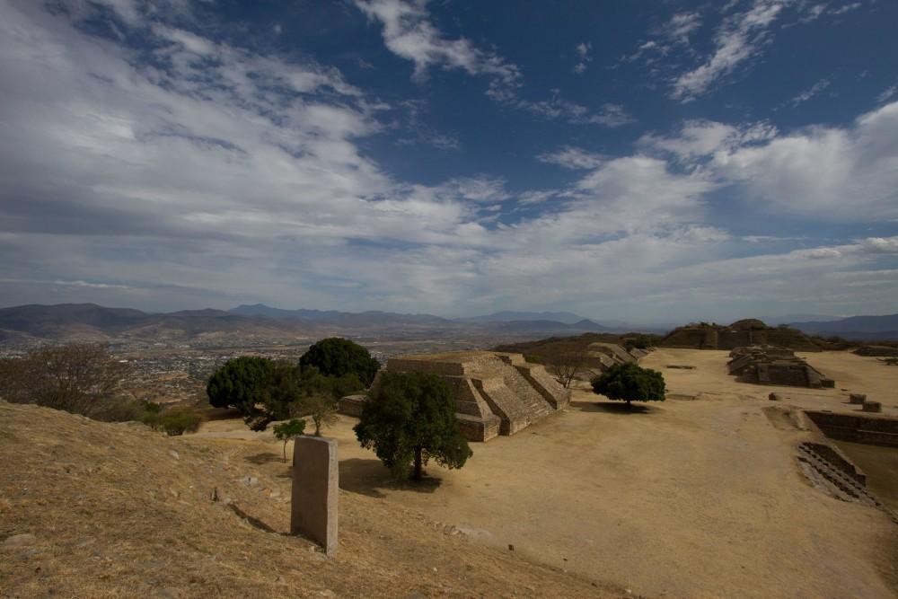 monte alban, near oaxaca