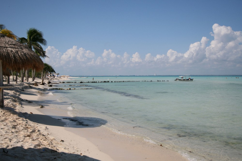 Na Balam, Isla Mujeres, the beach