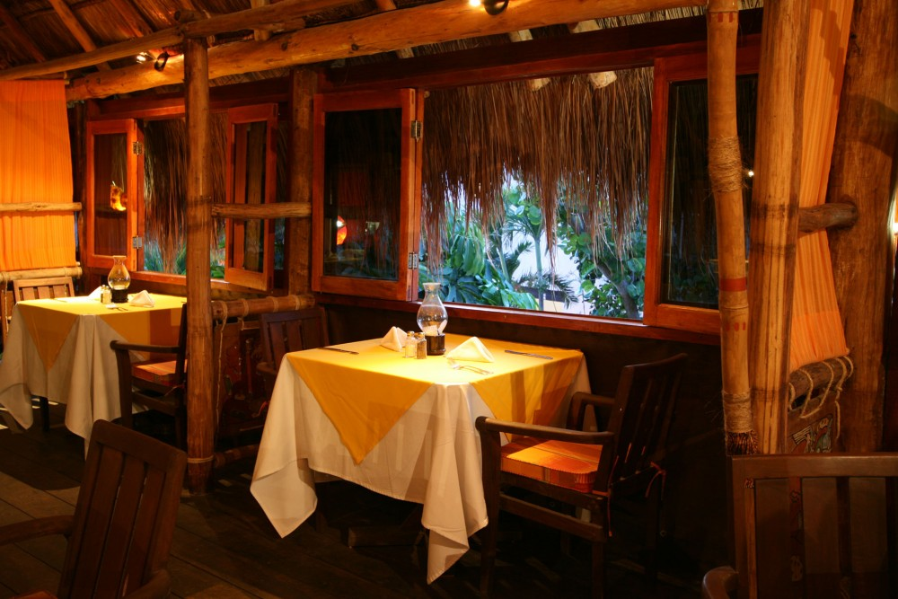 Na Balam, Isla Mujeres, the restaurant