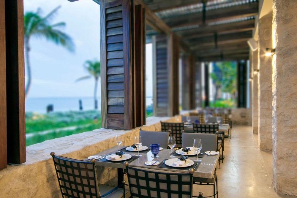 Nizuc Resort and Spa, Ramona restaurant