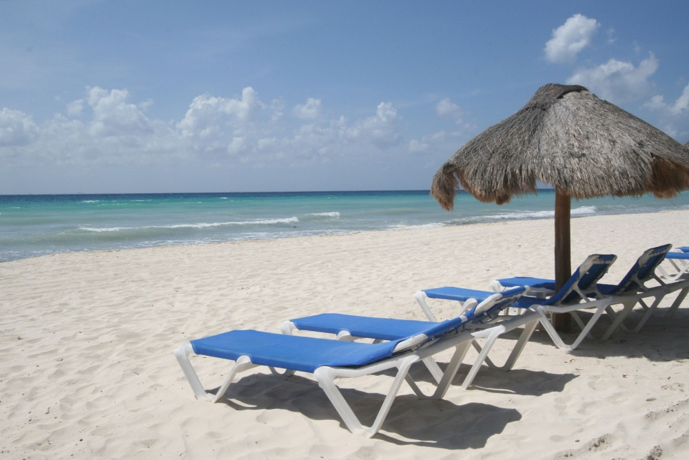 Petit Lafitte, Riviera Maya, the beach