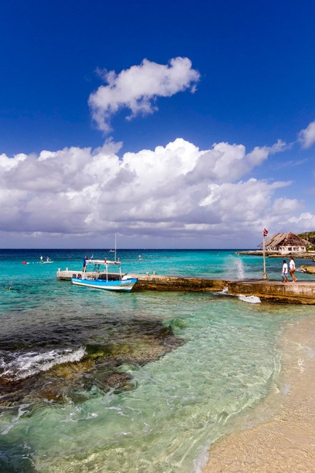 Playa Azul, Cozumel, the beach