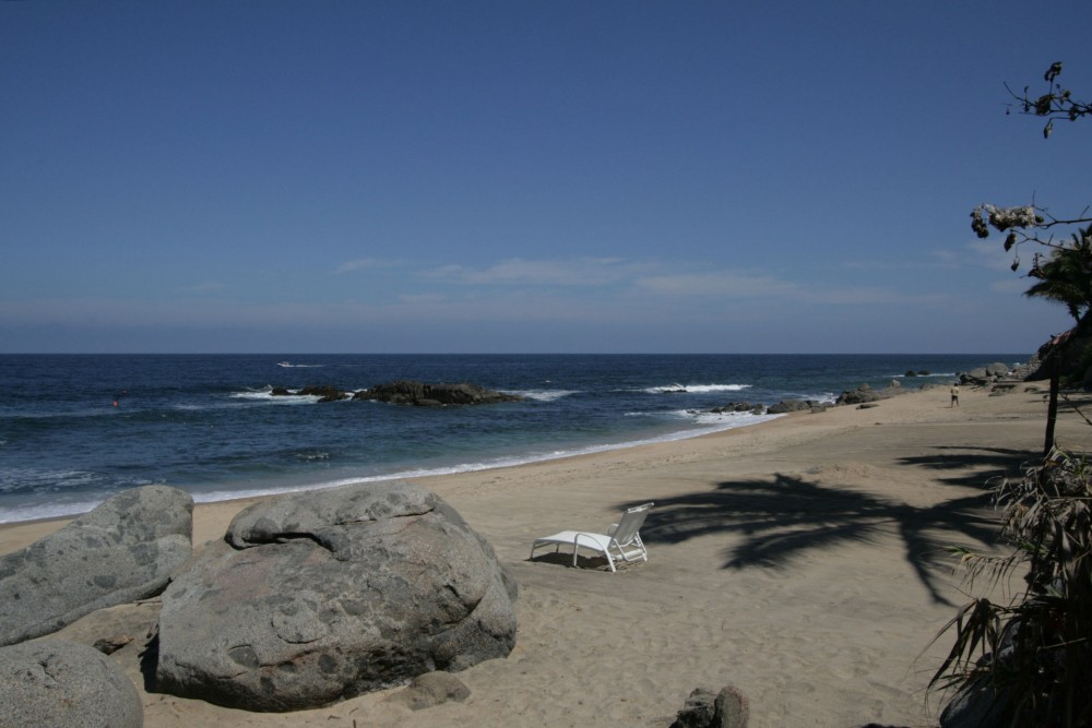 Playa Escondida, near Sayulita, the beach