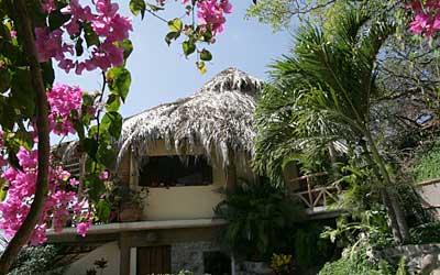Playa Escondida, near Sayulita, the Studio