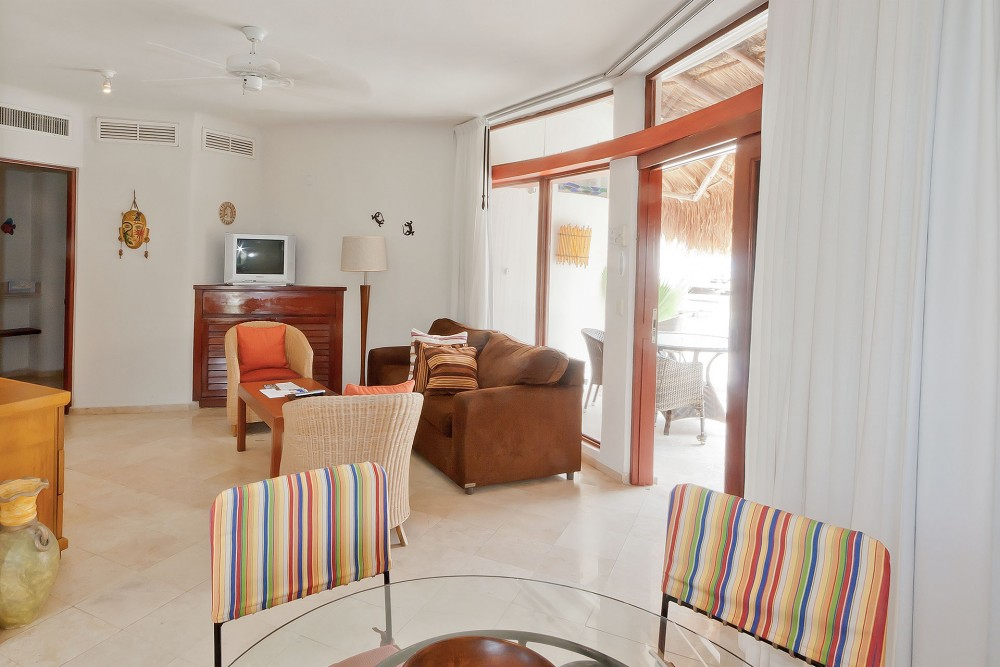 playa palms, playa del carmen, one bedroom suite