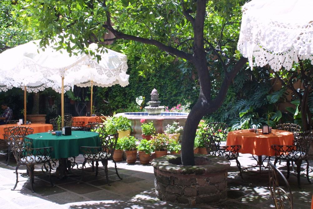 Posada Carmina, San Miguel de Allende, the restaurant