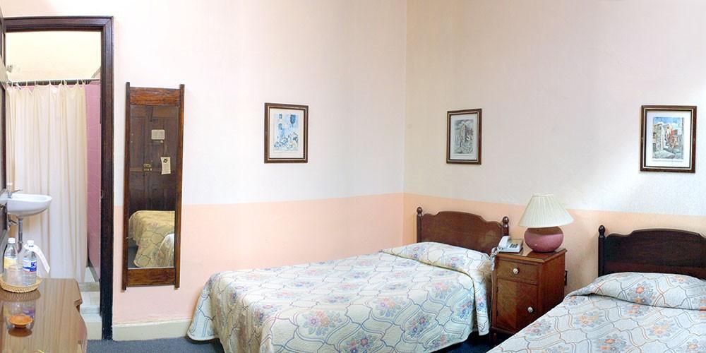 Posada Santa Fe, Guanajuato, double room