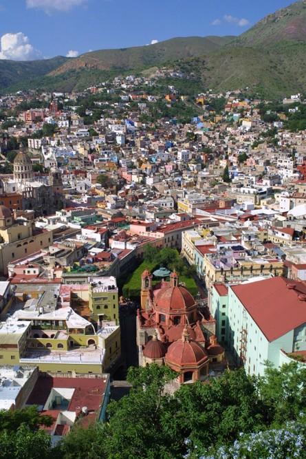 Guanajuato, view from el Pipila