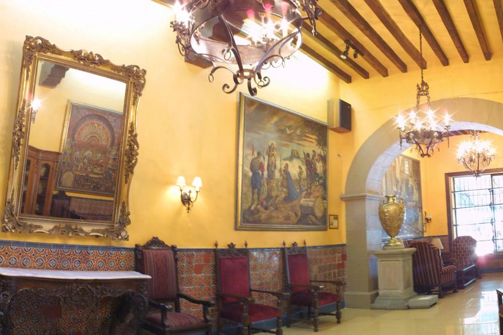 Posada Santa Fe, Guanajuato, the museum