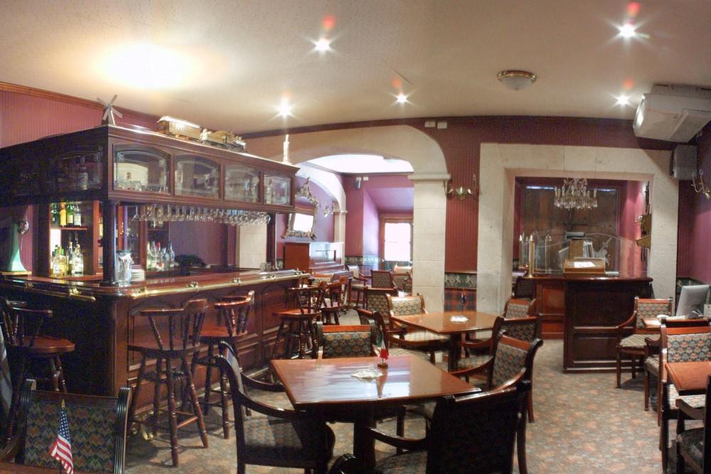 Posada Santa Fe, Guanajuato, the bar