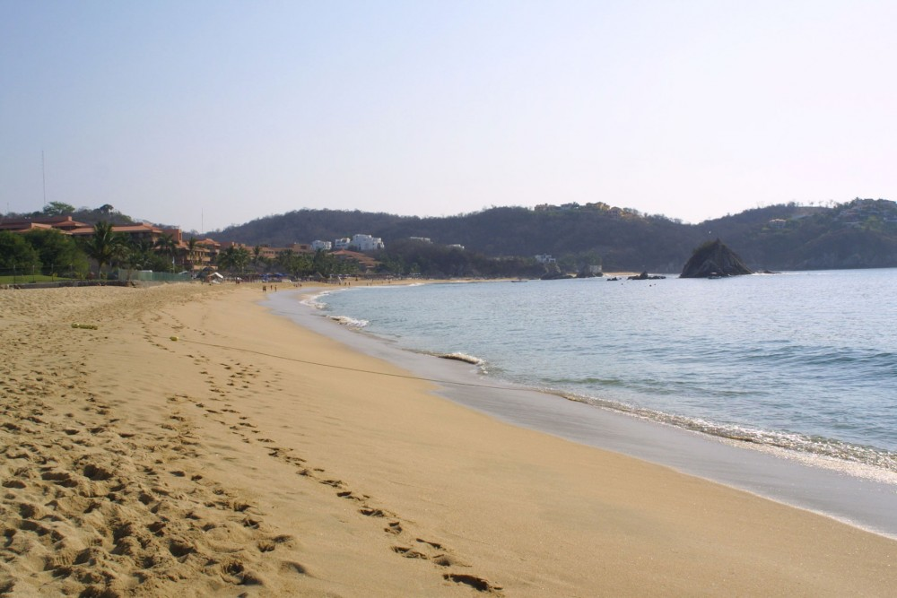 Quinta Real Huatulco, the beach