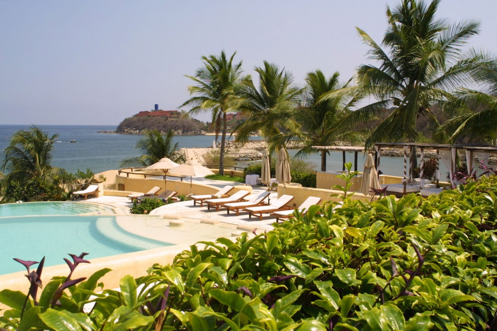 Quinta Real Huatulco, the pool