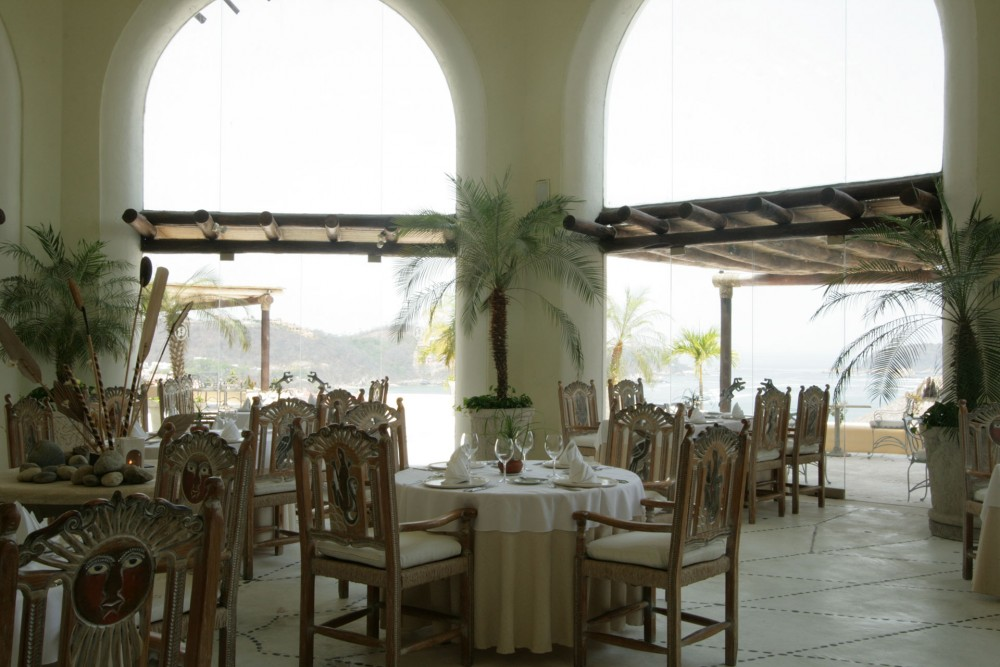 Quinta Real Huatulco, the restaurant