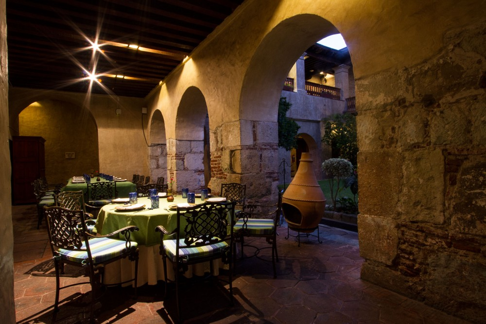 Quinta Real Oaxaca, the restaurant