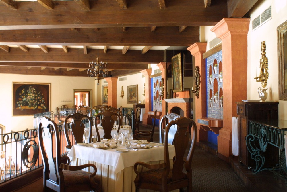 Quinta Real, Zacatecas, the restaurant