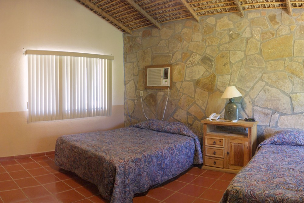 Rancho Leonero, East Cape, Baja California, the bungalows