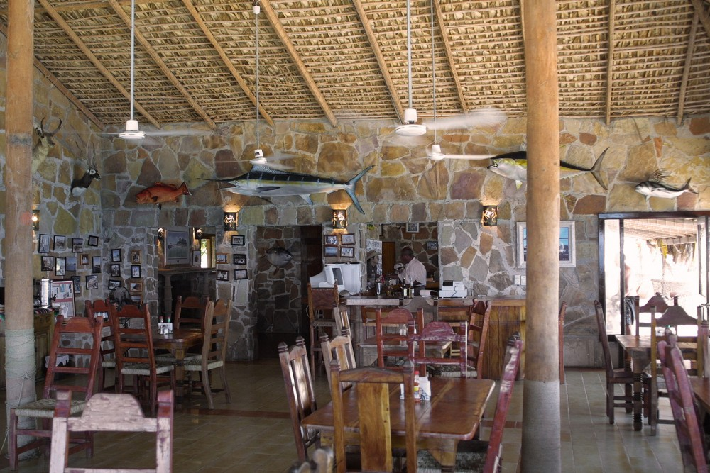 Rancho Leonero, East Cape, Baja California, the restaurant
