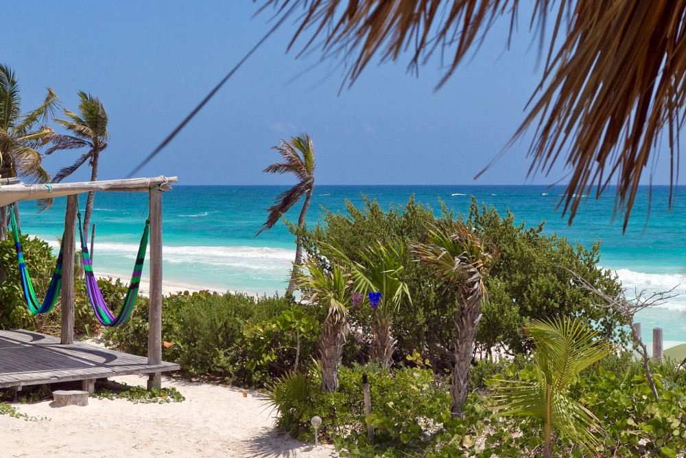 Suenos Tulum, the beach