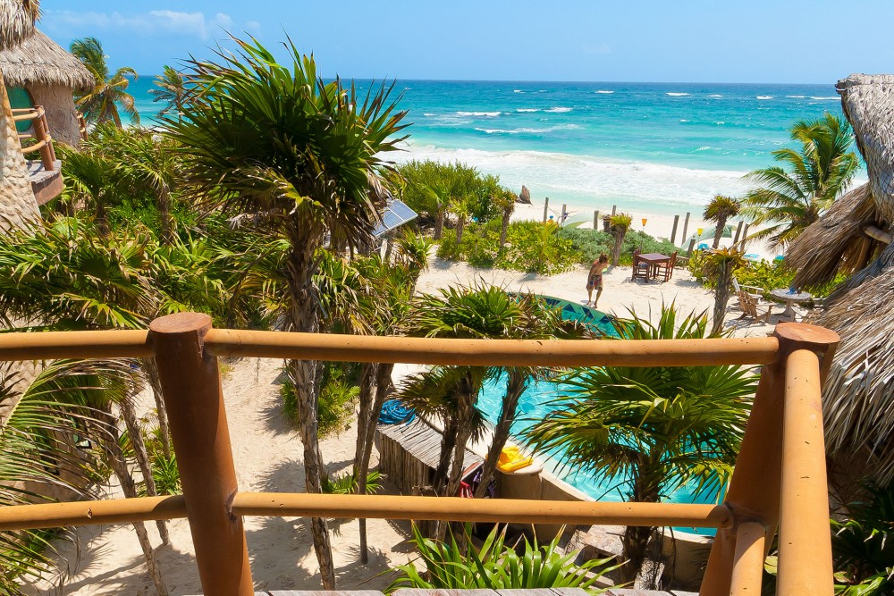 Suenos Tulum, view from a Master Suite