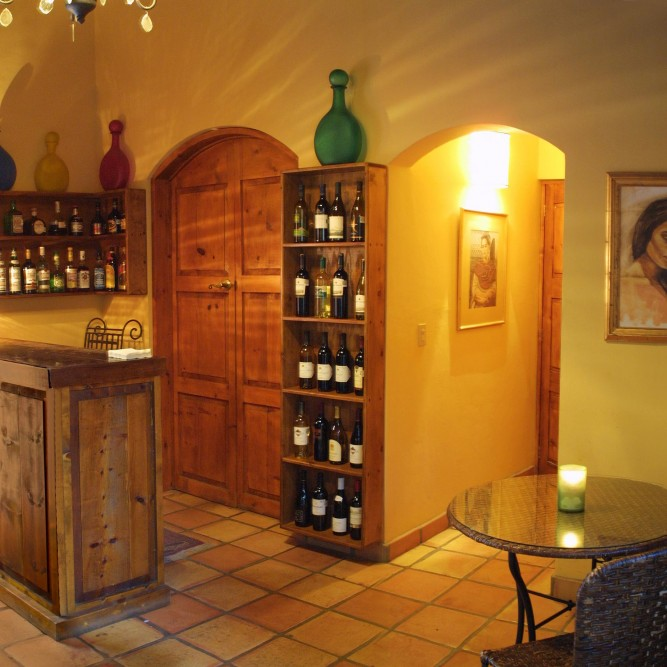 Todos Santos Inn, the wine bar