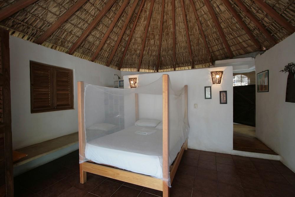 Un Sueno San Agustinillo, upper room