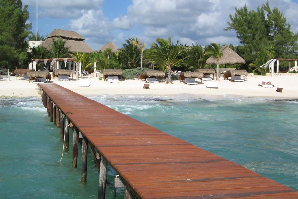 Viceroy Riviera Maya, the beach