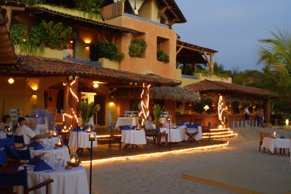 Viceroy Zihuatanejo, the restaurant