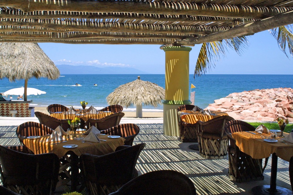Villa Premiere, Puerto Vallarta, the restaurant